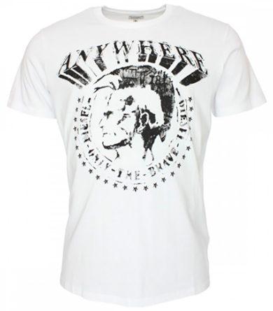 Bílé tričko ANYWHERE Diesel