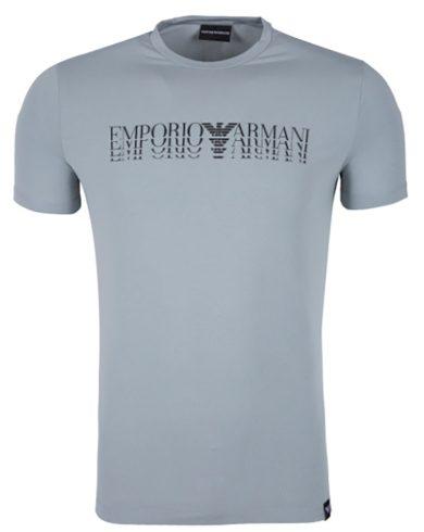 Tričko s černým nápisem Emporio Armani