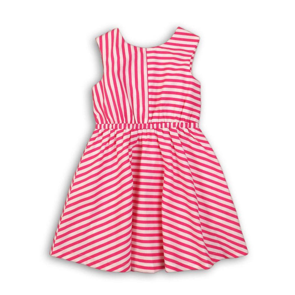 Minoti Šaty dívčí bavlněné, Minoti, Funhouse 6, růžová