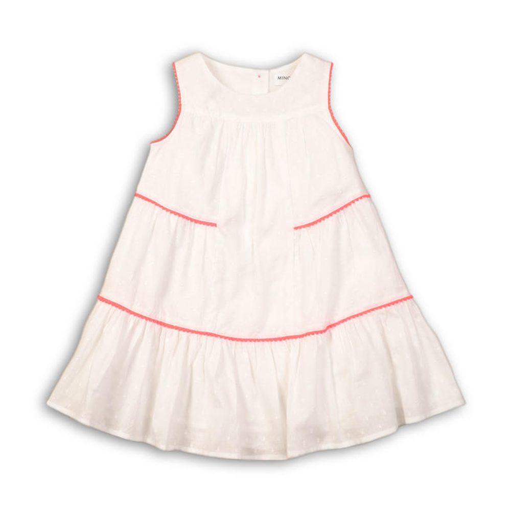 Minoti Šaty dívčí bavlněné, Minoti, Hut 1, bílá