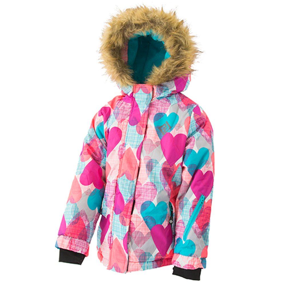 Pidilidi bunda zimní dívčí, Pidilidi, PD1076-01, holka