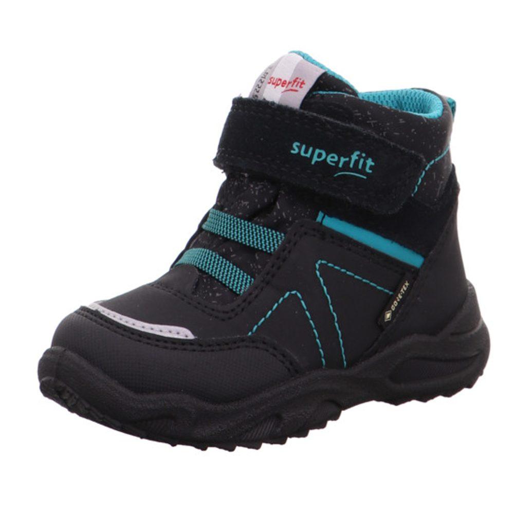 Superfit chlapecké zimní boty GLACIER GTX, Superfit, 1-009227-0010, černá