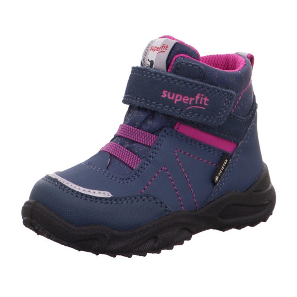 Superfit dívčí zimní boty GLACIER GTX, Superfit, 1-009227-8030, modrá