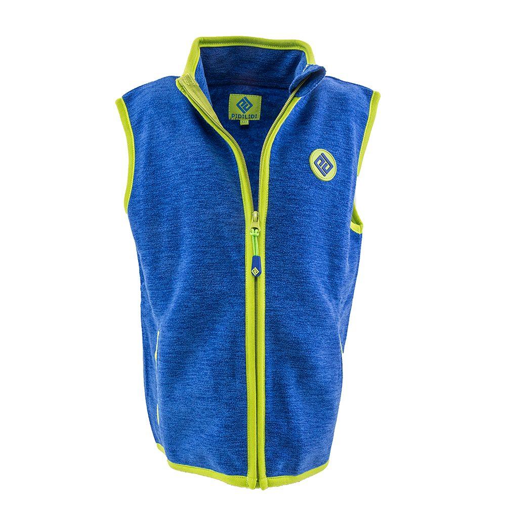 Pidilidi chlapecká vesta propínací fleezová, Pidilidi, PD1118-04, modrá