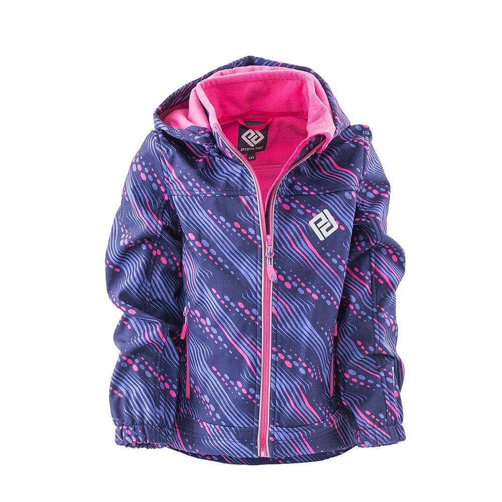 Pidilidi bunda softshellová dívčí s kapucí, Pidilidi, PD1102-01, holka
