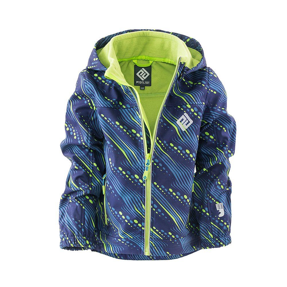 Pidilidi bunda softshellová chlapecká s kapucí, Pidilidi, PD1102-02, kluk