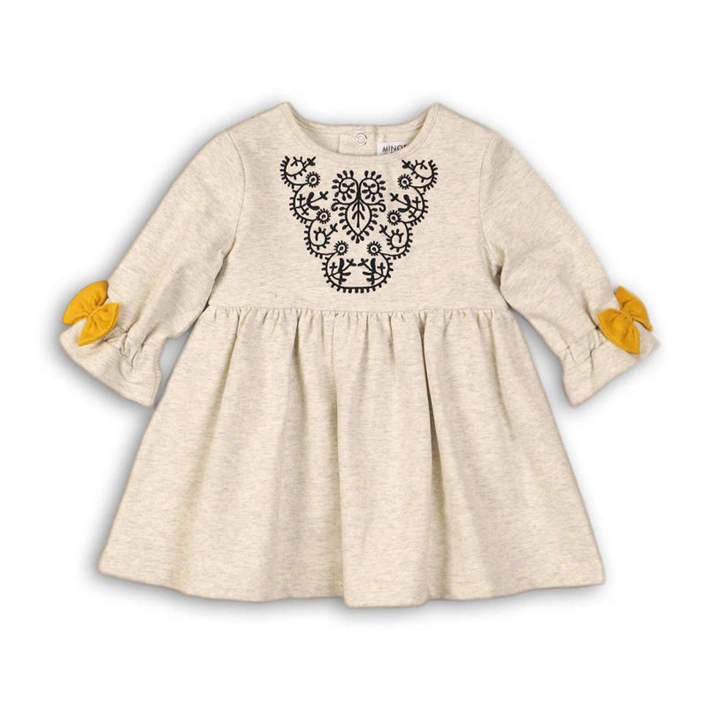 Minoti Šaty dívčí, Minoti, OWL 7, šedá