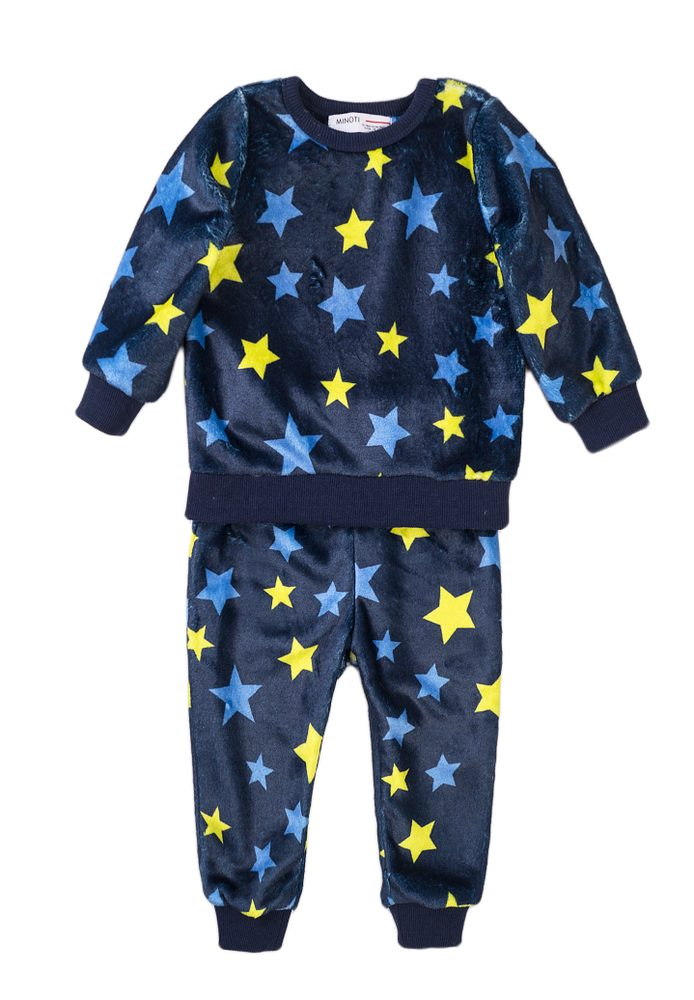 Minoti Pyžamo chlapecké fleecové, Minoti, TB PYJ 22, modrá