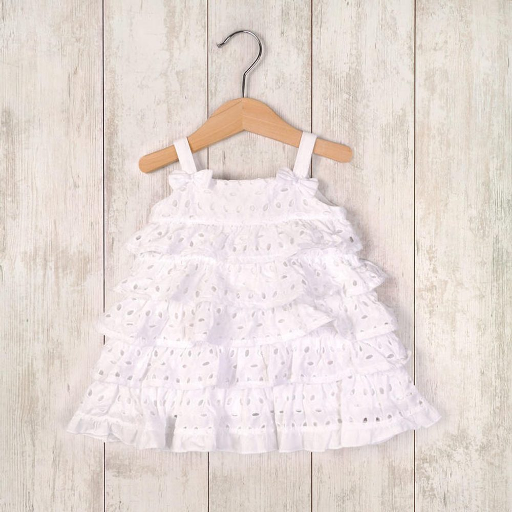 Minoti šaty letní a kalhotky, Minoti, LOVELY 7, bílá