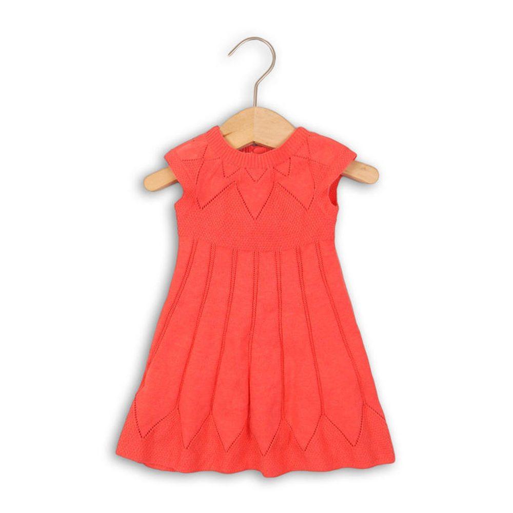 Minoti Šaty dívčí úpletové, Minoti, PARIS 5, červená