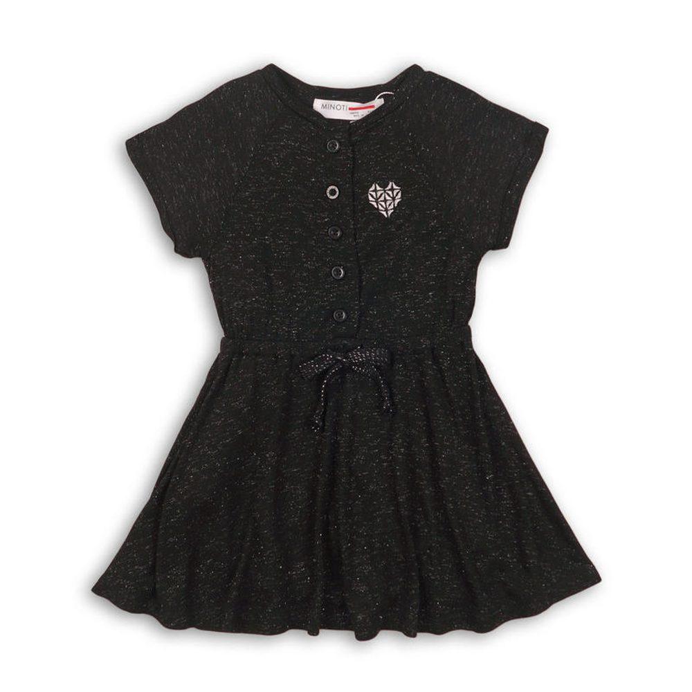 Minoti Šaty dívčí, Minoti, SUPER 2, černá