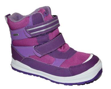 Bugga obuv zimní  2 pásky, Bugga, B081, růžová