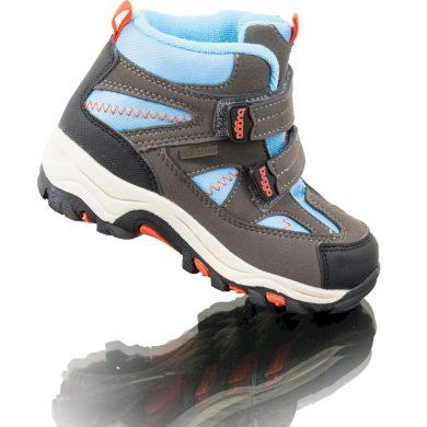 Bugga boty zimní 2 pásky, nepromokavá membrána, Bugga, B00126-04, modrá