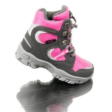 Bugga boty zimní nepromokavá membrána, Bugga, B00130-03, růžová