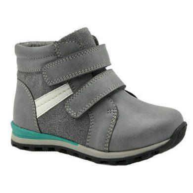 Bugga boty chlapecké zateplené, Bugga, B00135-09, šedá