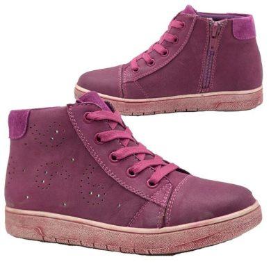 Bugga boty dívčí celoroční, Bugga, B00138-06, fialová