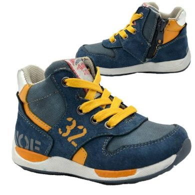 Bugga boty chlapecké celoroční, Bugga, B00140-04, modrá