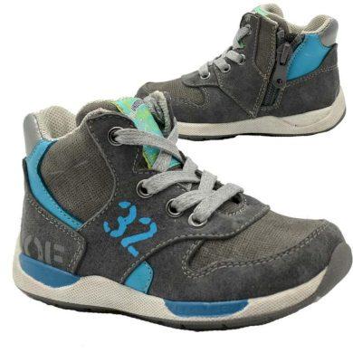 Bugga boty chlapecké celoroční, Bugga, B00140-09, šedá