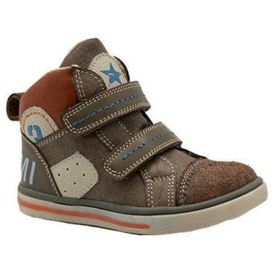 Bugga boty dětské celoroční, Bugga, B00141-18, hnědá