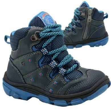 Bugga boty dětské zimní, Bugga, B00142-04, modrá