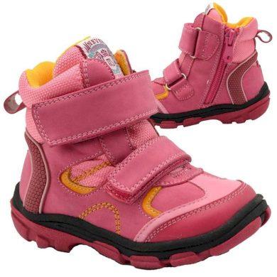Bugga boty dětské zimní, Bugga, B00143-03, růžová