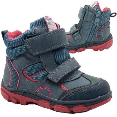 Bugga boty dětské zimní, Bugga, B00143-04, modrá