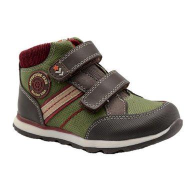 Bugga boty chlapecké celoroční, Bugga, B00144-14, khaki