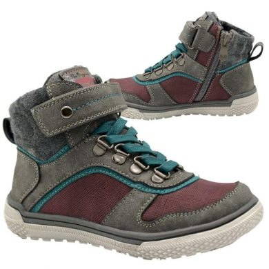 Bugga boty chlapecké celoroční, Bugga, B00146-09, šedá