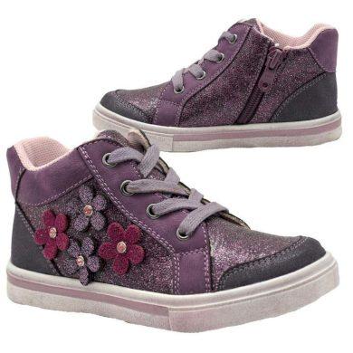 Bugga boty dívčí celoroční, Bugga, B00147-06, fialová