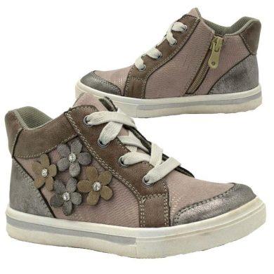 Bugga boty dívčí celoroční, Bugga, B00147-09, šedá
