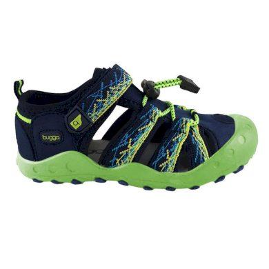 Bugga sandály sportovní OUTDOOR, Bugga, B00156-19, zelená