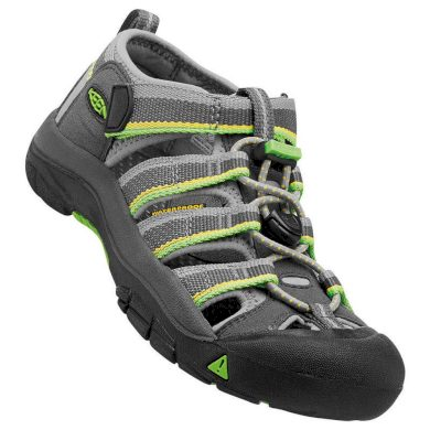 Keen Dětské sandály NEWPORT H2 K, racer gray, Keen, 1014248, šedá