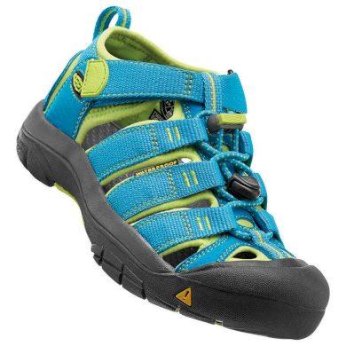 Keen Dětské sandály NEWPORT, hawaiian blue/green glow, Keen, 1012314, modrá