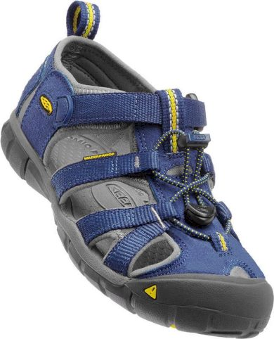 Keen Dětské sandály SEACAMP II CNX, blue depths/gargoyle, Keen, 1010096, modrá