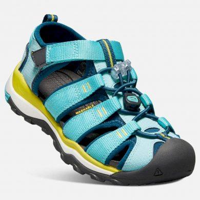 Keen Dětské sandály NEWPORT NEO H2 K aqua sea/legion blue, Keen, 1018428, modrá