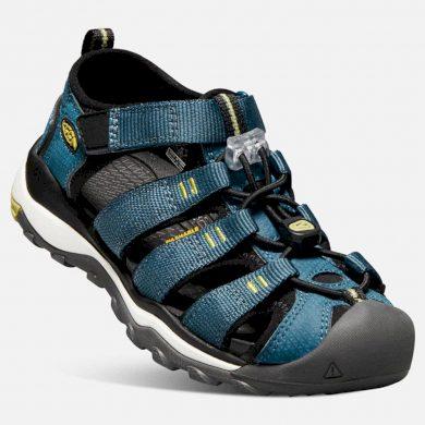 Keen Dětské sandály NEWPORT NEO H2 K legion blue/moss, Keen, 1018433, modrá
