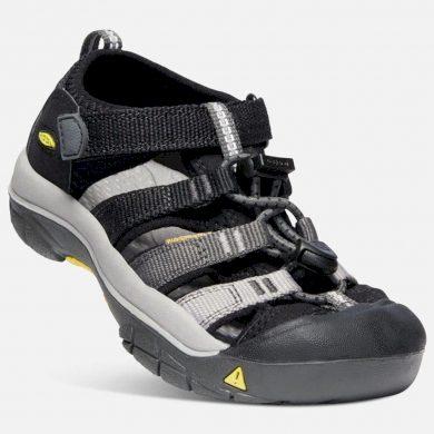 Keen Dětské sandály NEWPORT H2 K black/magnet, Keen, 1020348, černá