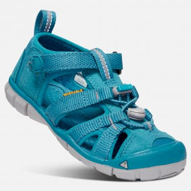 Keen Dětské sandály SEACAMP II CNX K tahitian tide, Keen, 1020685, modrá