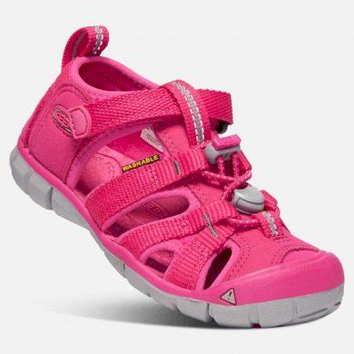 Keen Dětské sandály SEACAMP II CNX JR, hot pink, Keen, 1020699, růžová