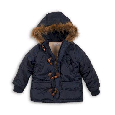 Minoti Bunda chlapecká zimní Parka Puffa nylonová, prošívaná, Minoti, CROSS 10, modrá