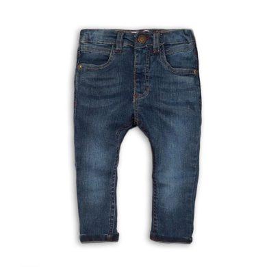 Minoti Kalhoty chlapecké džínové s elastenem a barevným prošíváním, Minoti, ALLSTAR 9, světle modrá