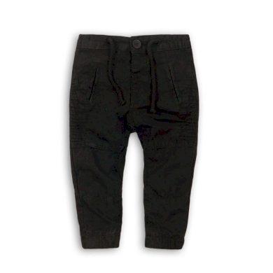 Minoti Kalhoty chlapecké s elastenem, Minoti, KID 5, černá