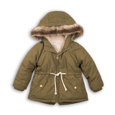 Minoti Kabát dívčí zimní Parka, Minoti, AUTUMN 10, khaki