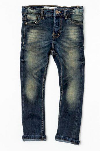 Minoti Kalhoty chlapecké džínové s elastenem, Minoti, NINETY 6, modrá