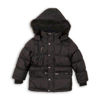 Minoti Kabát chlapecký zimní prošívaný, Minoti, MONO 3, černá