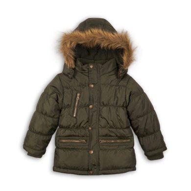 Minoti Kabát chlapecký zimní prošívaný, Minoti, MONO 3, khaki