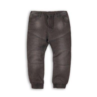 Minoti Kalhoty chlapecké džínové s elastenem, nohavice do gumy, Minoti, MONO 8, šedá