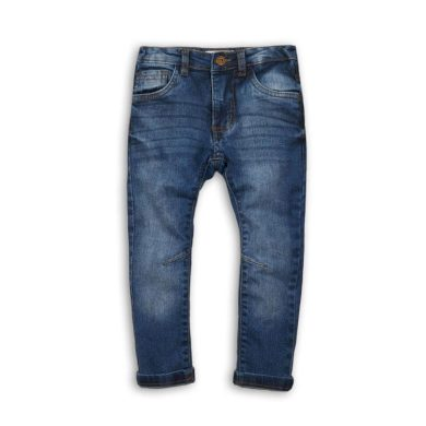 Minoti Kalhoty chlapecké džínové s elastenem, Minoti, WEST 3, modrá