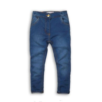 Minoti Kalhoty dívčí džínové elastické, Minoti, ARTISAN 3, modrá