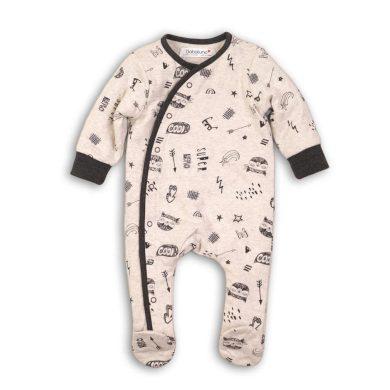 Minoti Overal kojenecký bavlněný, Minoti, WILD 8, kluk